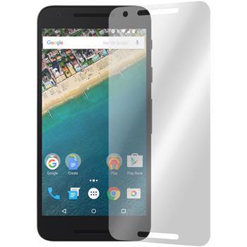 4 x Google Nexus 5X Displayschutzfolie klar