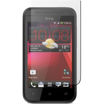 4 x HTC Desire 200 Protection Film Clear