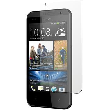 4 x HTC Desire 300 Protection Film Clear