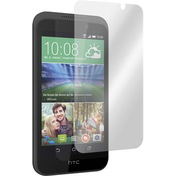 4 x HTC Desire 320 Protection Film Clear