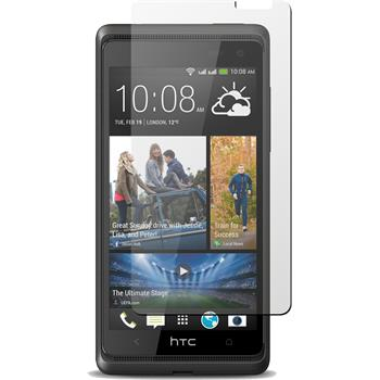 4 x HTC Desire 600 Protection Film Clear