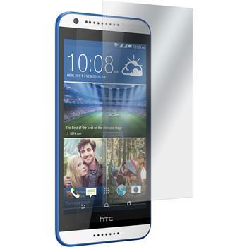 4 x HTC Desire 620 Displayschutzfolie matt