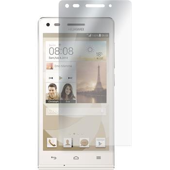 4 x Huawei Ascend G6 Displayschutzfolie matt