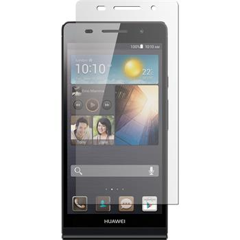 4 x Huawei Ascend P6 Protection Film Clear