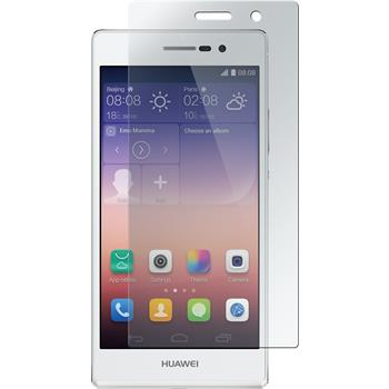 4 x Huawei Ascend P7 Protection Film Clear