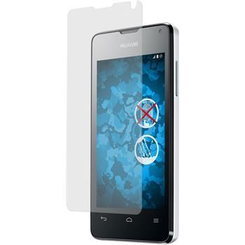 4 x Huawei Ascend Y300 Displayschutzfolie matt
