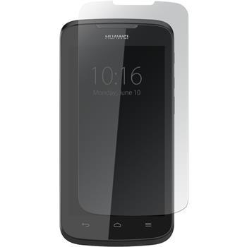 4 x Huawei Ascend Y535 Displayschutzfolie klar