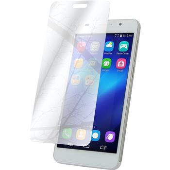 4 x Huawei Honor 4A Displayschutzfolie verspiegelt