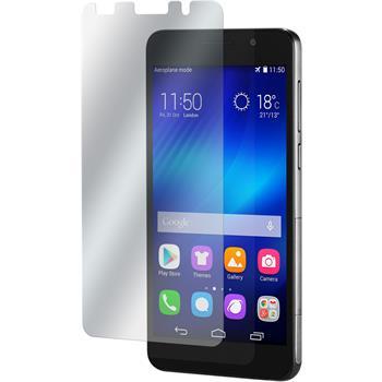 4 x Huawei Honor 6 Displayschutzfolie matt
