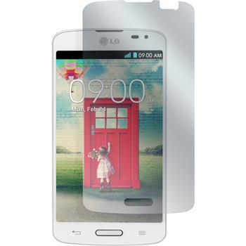 4 x LG F70 Displayschutzfolie matt