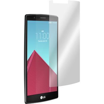 4 x LG G4 Displayschutzfolie matt