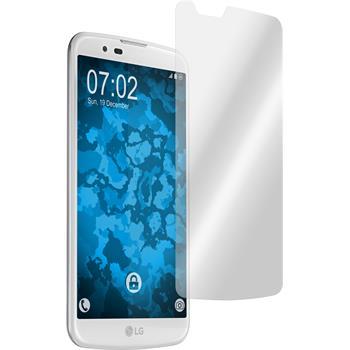 4 x LG K10 Displayschutzfolie klar