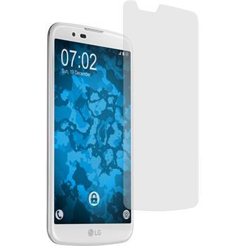 4 x LG K10 Displayschutzfolie matt