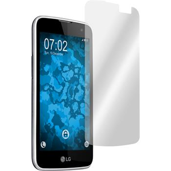 4 x LG K4 Protection Film clear