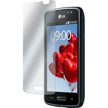 4 x LG L50 Protection Film Clear