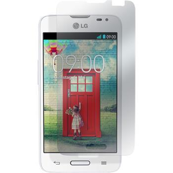 4 x LG L65 Displayschutzfolie klar