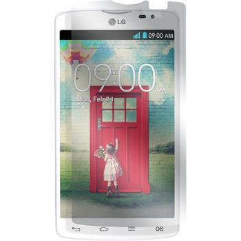 4 x LG L80 Dual Displayschutzfolie klar