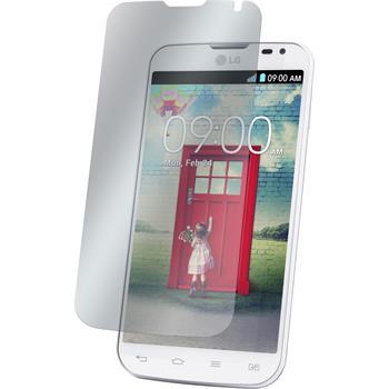 4 x LG L90 Dual Displayschutzfolie klar