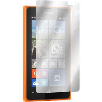 4 x Lumia 532 Schutzfolie verspiegelt