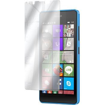 4 x Lumia 540 Dual Schutzfolie verspiegelt
