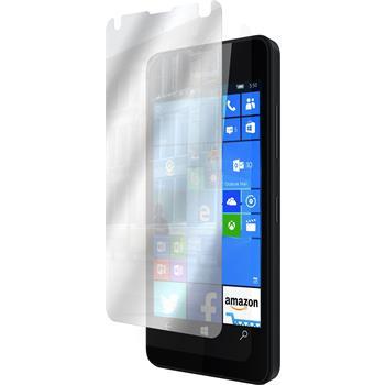4 x Lumia 550 Schutzfolie verspiegelt