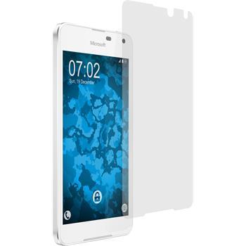 4 x Lumia 650 Schutzfolie matt
