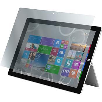 4 x Surface Pro 3 Schutzfolie matt