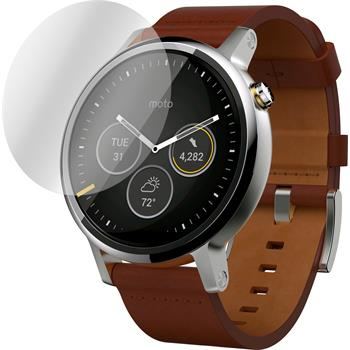 4 x Motorola Moto 360 (2.Gen) 42mm Protection Film Anti-Glare