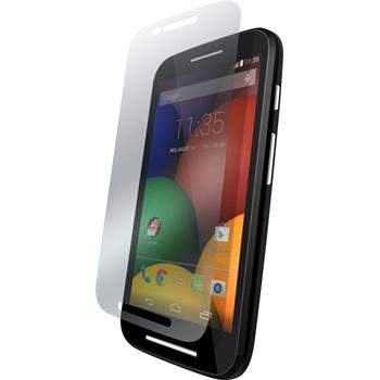 4 x Motorola Moto E Protection Film Anti-Glare
