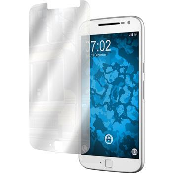 4 x Motorola Moto G4 Plus Protection Film Mirror