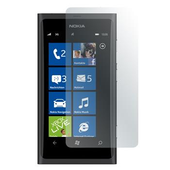 4 x Nokia Lumia 800 Schutzfolie matt
