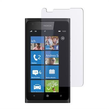 4 x Lumia 900 Schutzfolie klar