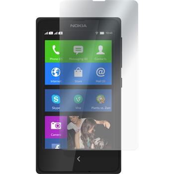4 x Nokia X / X+ Schutzfolie klar