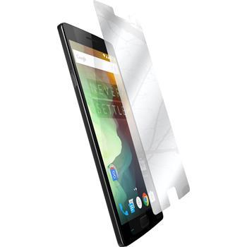 4 x OnePlus 2 Schutzfolie verspiegelt