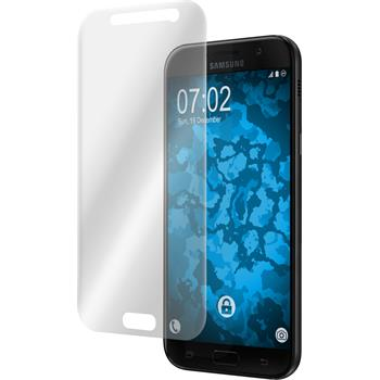 4 x Galaxy A7 (2017) Protection Film clear curved
