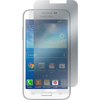 4 x Galaxy Core Lite Schutzfolie matt