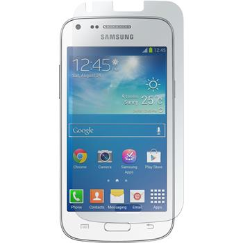 4 x Samsung Galaxy Core Plus Protection Film Clear