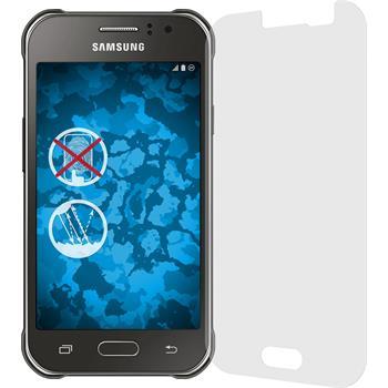 4 x Galaxy J1 ACE Schutzfolie matt
