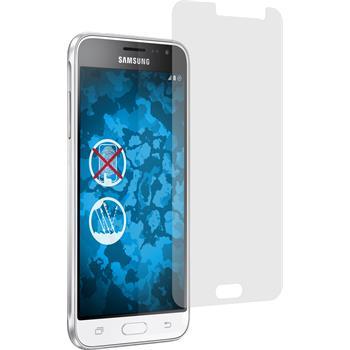 4 x Galaxy J3 (2016) Schutzfolie matt