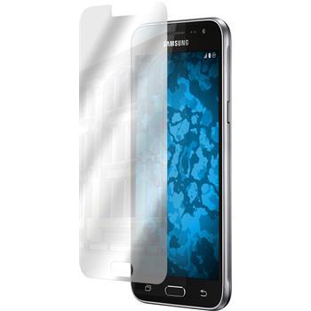 4 x Samsung Galaxy J3 Displayschutzfolie verspiegelt