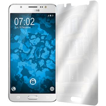 4 x Samsung Galaxy J5 (2016) J510 Displayschutzfolie verspiegelt