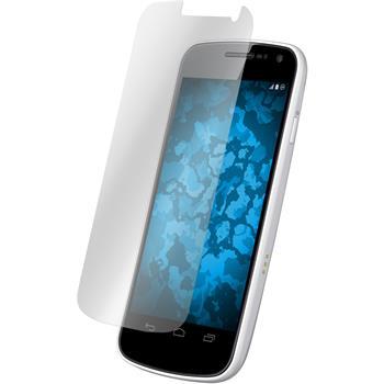 4 x Galaxy Nexus Schutzfolie klar