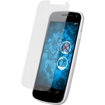 4 x Galaxy Nexus Schutzfolie matt