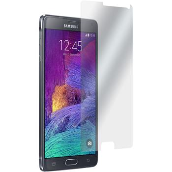 4 x Samsung Galaxy Note 4 Displayschutzfolie matt
