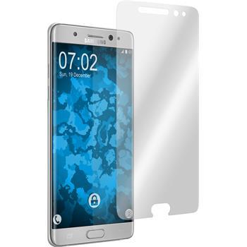 4 x Galaxy Note 7 Schutzfolie klar curved