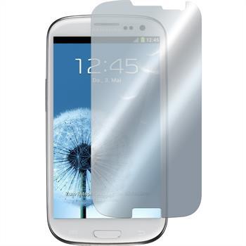 4 x Galaxy S3 Schutzfolie verspiegelt