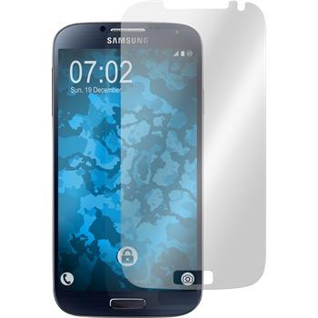 4 x Galaxy S4 Schutzfolie klar