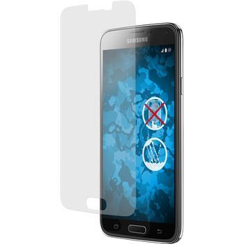 4 x Galaxy S5 Schutzfolie matt