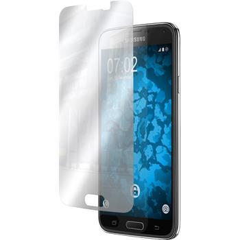 4 x Galaxy S5 Schutzfolie verspiegelt