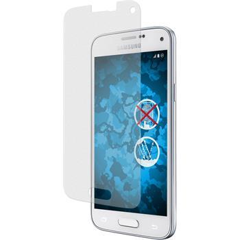 4 x Samsung Galaxy S5 mini Displayschutzfolie klar